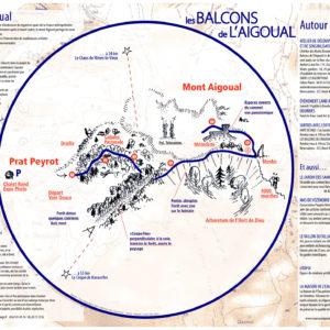 Plan des Balcons de l'Aigoual