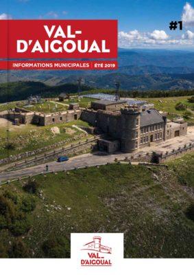 Visuel de la première page du premier bulletin municipal de val-d'Aigoual