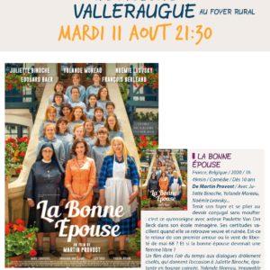 Affiche Cinéma Vall Juillet